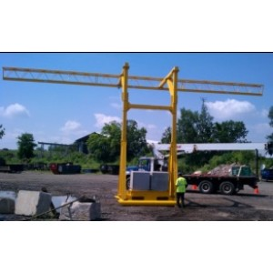 Portable Horizontal Lifeline Rail Systems