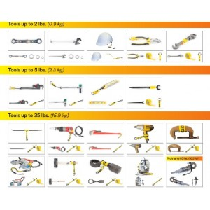 Tool Lanyards Safety Anchor Attachment Points