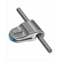#XS.12811: Horizontal lifeline cable slider 8mm
